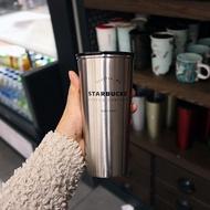 Starbucks Seattle Silver Tumbler 16oz
