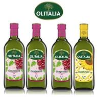 (老爹特惠)【奧利塔olitalia】1000ML葡萄籽油3瓶+葵花油1瓶 (4瓶禮盒組)A210004x3_A270002