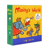 [點讀版] 正版 Maisy操作書 橙盒 套書6冊 盒裝 小鼠波波