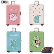 Johnn อุปกรณ์ป้องกันกระเป๋า 18-20-22-24-26-28-30-32 ยืดหยุ่นผ้าคลุมกระเป๋าเดินทาง TRAVEL กรณีกระเป๋าลาก [คลังสินค้าพร้อม-คุณภาพสูง]