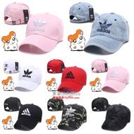 Adidas 愛迪達 兒童帽 棒球帽 小朋友帽子 小學生時尚鴨舌帽子 大小童 三葉草 兒童太陽帽 親子款