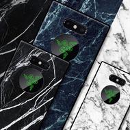 【現貨8款選擇】雷蛇razer phone2手機殼Razer Phone二代硅膠防爆防摔送掛繩復古仿木紋簡約保護殼套
