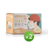 【善存】醫用口罩 未滅菌.雙鋼印-兒童平面 森林動物(50入/盒x2)