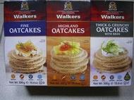 郵另+*COSTCO英國進口*WALKERS OATCAKES 蘇格蘭皇家 威格 燕麥餅乾 組合 (3條裝:經典FINE/高地HIGHLAND/厚脆THICK)*自取*