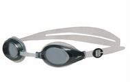 [陽光樂活] SPEEDO  MARINER 近視 -1.5~-8.0 度數  泳鏡 黑-灰 SD8008513081