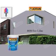 4684 Ice Lilac 1L Jotun Jotashield Antifade Blue Colour Exterior Anti Algae & Anti Fungal Cat Dinding Luar Rumah Anti Alga & Anti Kulat Paintivo