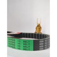 Bando belt (green) Honda Dio3 658*18.2*30 original