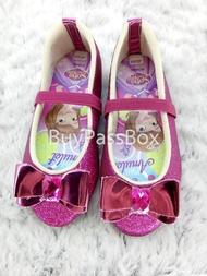 รองเท้าเด็กAERA(เอร่า) คัชชู ลายเจ้าหญิงโซเฟีย ลิขสิทธิ์แท้ SF G06-01 สีบานเย็น