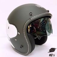 【帽 's🐭】免運費‼️🚚 史努比 Snoopy 墨鏡 華泰 KK 806S 消光黑 半罩安全帽 全罩 史努比安全帽