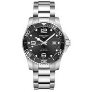 LONGINES 浪琴錶 L37814566 深海征服者經典機械腕錶/黑面 41mm