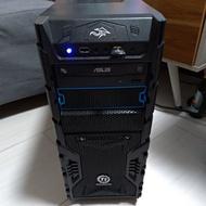 Core I7-7700 4.20Hz 16G ram GTX 1050 Ti 主機 正版Win10 自組 二手