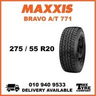 MAXXIS BRAVO A/T 771 - 275/55/20, 275/55R20 TYRE TIRE TAYAR 20 INCH INCI