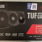 ASUS TUF Gaming X3 Radeon™ RX 5700XT EVO 8G
