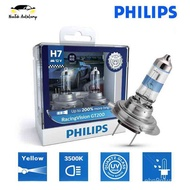 Philips Racing Vision GT200 H7 3500K Car Headlight Bulb Light Halogen +200% Yellow 12972RV EP9d