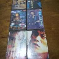 早期知名影視歌星趙傳,伍佰的小型錄音帶6盒一組,非常希少