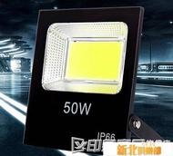 LED投光燈戶外防水射燈工程照明廠房室外庭院廣告路燈探照燈100w