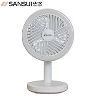 SANSUI 山水USB充電式LED驅蚊DC風扇 桌立/掛勾 SHF-M72