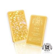 【煌隆】5台錢幻彩黃金金條(金重18.75公克)
