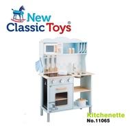【荷蘭 New Classic Toys】聲光小主廚木製廚房玩具 11065-淺藍