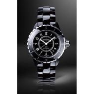 歐美優選 Chanel J12 H1626 Auto Diamond 38mm Watch 鑲鑽自動陶瓷錶 黑