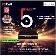 SG EVPAD TV BOX 2021, Singapore dealer EVPAD 5S EVPAD 5P (EVPAD 5MAX 4GB RAM, 128GB ROM)