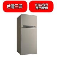 《可議價》台灣三洋SANLUX【SR-C580BV1A】580公升雙門變頻冰箱