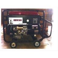 【泵浦五金】YAMANO 山野 SHW-190 引擎 電焊機 發電機 汽油引擎電動啟動電焊機15HP
