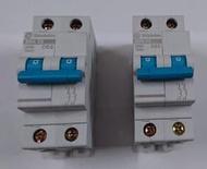 士林 小型斷路器 無熔絲開關 小型迴路保護器 BHA32 BHA2P63A 2P50A
