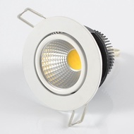 360< Orientable  5W Dimmable COB LED Downlight