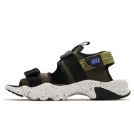Nike 涼鞋 Canyon Sandal 黑 黃 綁帶 魔鬼氈 男鞋 夏日 涼拖鞋 【ACS】 CI8797-301