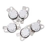 5 x KSD301 NC Thermostat Temperature Control Switch 105 Celsius 250V 10A