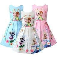 Costume Frozen Kids Anna Party Kids Dress Clothes for Girls Elsa Princess Dress