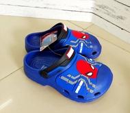 SCPPlaza รองเท้าเด็ก ทรง Crocs เด็กผู้ชาย หัวโต ปิดปลายเท้า Adda Spiderman 53503 Sale ลดราคาพิเศษ พร้อมส่งเคอรี่