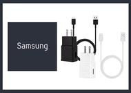 SAMSUNG 原廠 9V快速旅行充電器+Type-C傳輸充電線組_S10內附款(密封袋裝)