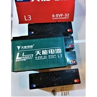 ebike battery 60volts 32AH sealed lead acid and maintenance free battery, tianneng brand