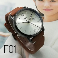 Fossil Men's Watch (Leather) 🎯
