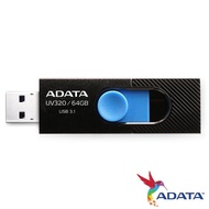 【ADATA 威剛】UV320 64GB USB3.1隨身碟(黑)