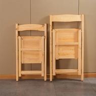 實木靠背折疊椅子簡約可折疊小板凳便攜戶外釣魚小凳子摺疊椅 露營隨身椅 釣魚椅 釣魚凳 童軍椅 露營椅 方便攜帶