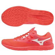【領券最高折↓$390】MIZUNO WAVE SONIC 2 女鞋 慢跑 路跑 馬拉松 耐磨 輕量 Drop4mm 螢光橘【運動世界】U1GD193561
