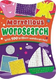 Shaped Puzzles For Kids : Marvelous Wordsearch :ISBN:9781838522124:Publisher:Igloo Books