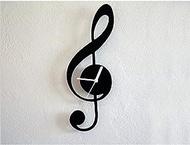 PZLSOA Music Wall Clock Wall Clock, Diy Wall Clock Mirror Sticker For Home Interior House Deco