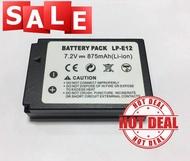 BATTERY LP-E12 แบตเตอรี่กล้อง รุ่น LP-E12 FOR CANON EOS 100D,EOS M,EOS M2,EOS M10 Replacement Battery for Sony