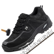 Indestructible shoes European plus size 48 safetySteel toe safety boot shoes