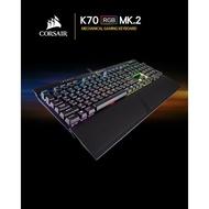 【CORSAIR海盜船】K70 RGB MK.2 電競鍵盤 紅軸 茶軸