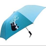 中鋼雨傘黑熊雨傘