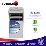 Fujidenzo 1HP Inverter Grade Portable Aircon with Air Purifying Filters PAC-100AIG