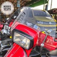 [ Morris Vespa ] Vespa 原廠 S 燻黑 透明 風鏡