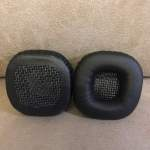 Headphones Cushions for MARSHALL MAJOR 1 2 Black Replacement NEW 全新代用耳機...