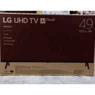 【免卡分期】LG樂金 49吋 IPS廣角4K電視 智慧連網液晶電視 49UK6320PWE 保固兩年