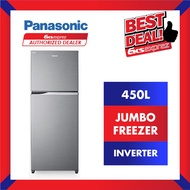 PANASONIC Fridge NR-BD460VPMY 450L 2-Door Top Freezer Inverter Fridge / Refridgerator / Peti Sejuk (Delivery / Install)